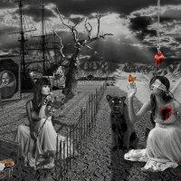 """Иллюстрация к сонету 137 Шекспира """"Любовь слепа и нас лишает глаз"""" :: Vladdimr SaRa"""