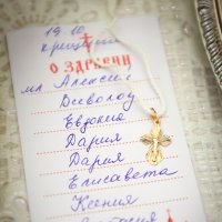 Пришел батюшка, принес список.... :: Оксана Ларченко