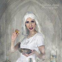 """""""Белая королева"""" из к/ф """"Алиса в стране чудес"""" :: Анна Булгакова"""
