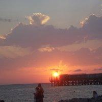 И ещё раз про красивый закат на Чёрном море :: Владимир Ростовский