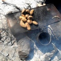 Картошка на углях :: Ольга Пьянникова