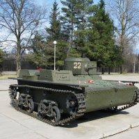 Малый плавающий танк Т-38. :: ТАТЬЯНА (tatik)