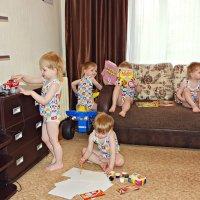 Когда ребенок  дома :: Екатерина Тырышкина