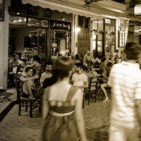Ночное кафе :: Mikhail Bukreev