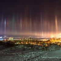 Светящиеся столбы :: Valeria Mironova
