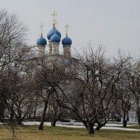 В Казанском саду :: Николай Дони