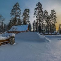 Зимнее утро :: Sergey Oslopov