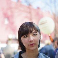 девушка с цветком :: Илья Касимов