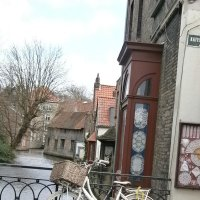 На улочках Брюгге... :: Алёна Савина