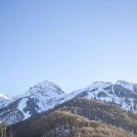 Небо над горами Кавказа :: Сергей Романюк