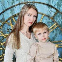 Катюшка и Мишутка :: Надежда Пляскина