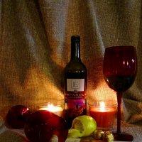 Натюрморт с красным вином :: Сергей Карачин