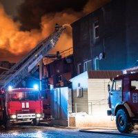 Пожар в Клину :: Денис Шевчук