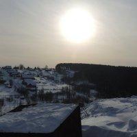 Солнце над сибирью :: Юрий Оржеховский