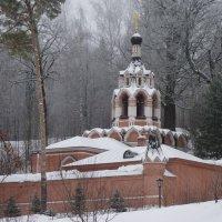 Церковь Преподобного Саввы в скиту Саввино-Сторожевского монастыря :: Galina Leskova