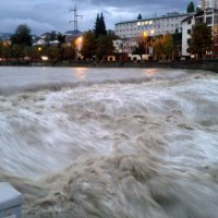 Река Сочи после урагана :: Tata Wolf