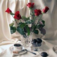 Кофе и зефир в шоколаде. :: Снежанна Родионова
