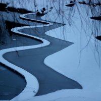 река зимой :: Людмила Дрозд