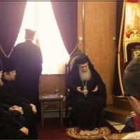 Патриарх Иерусалимский Феофил III :: Любовь Белянкина