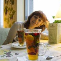 Для поднятия настроения - чай с клюквой))) :: Ксения Довгопол