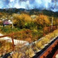 Поезда спешат куда-то и спешим куда-то мы... :: Ирина Данилова