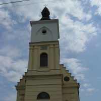 Римо - католический  костёл  в  Бурштыне :: Андрей  Васильевич Коляскин