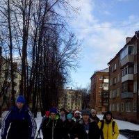 Участники бега по сугробам :: Павел Михалев