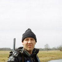 Портрет охотника с ружом) :: Евгений Золотаев