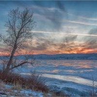 Закат на Озере Большом. Хаккасия :: Сергей Винтовкин