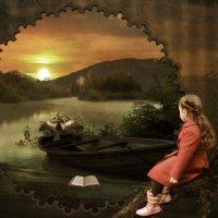 Девочка и закат :: Маргарита Нижарадзе