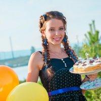 день рождение :: Анна Кулиева