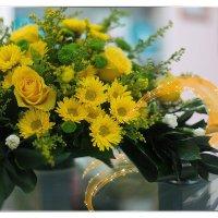 Свадебные цветы на Пушкина :: Марина Щуцких