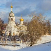 Церковь Ильи Пророка в Черкизово. :: Дмитрий Сушкин