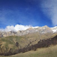 Панорама горного хребта (30 фото) :: Артём Федин