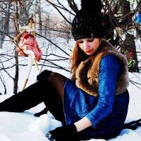 Беседа с лесной феей :: Вероника Подрезова