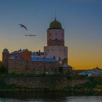 Выборг на закате :: Дмитрий Рутковский