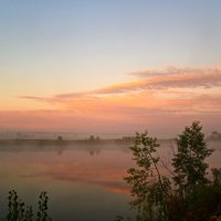 Розовый туман. :: Владимир Михайлович Дадочкин