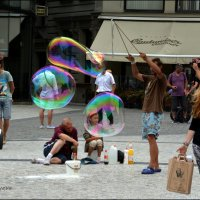 Волшебные пузыри. :: Anna Gornostayeva