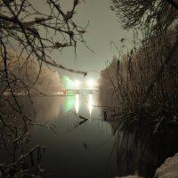 плотина,река :: Владимир Иванов