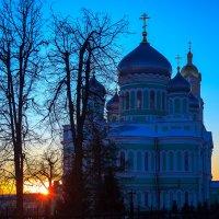 Дивеевские Святки - 2015: Закат :: Андрей Мердишев