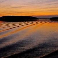 Летнем вечером у моря :: Андрей Куприянов