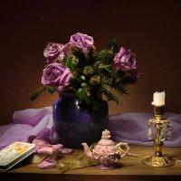 Чай с лепестками роз... :: Валентина Колова