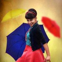 Шербургские зонтики. :: Lyuba-Viktoria Халявина.