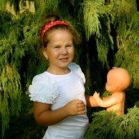 маленькая мама :: Мария Корнилова