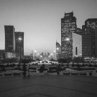 Ночная Астана. :: Kassen Kussulbaev