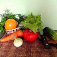 Будет салат. :: nadyasilyuk Вознюк