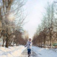 Оксана!)  Фотограф: Елена Петрова 7.02.15 Гор. сад) :: Елена Петрова