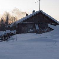 Зимой в деревне. :: Галина Полина