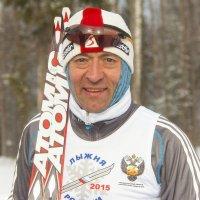 Михаил Ботвинов в Ижевске на Лыжне России 2015 :: Владимир Максимов