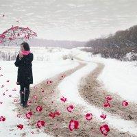 Зонт :: Олеся Тихомирова